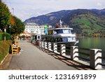 zell am see  austria   may 20 ... | Shutterstock . vector #1231691899