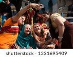 kolkata  india 16 january 2018  ... | Shutterstock . vector #1231695409