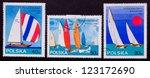 poland   circa 1965  a stamp... | Shutterstock . vector #123172690