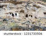 landscape of stone cliff at...   Shutterstock . vector #1231733506