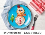 pancakes in the shape of...   Shutterstock . vector #1231740610