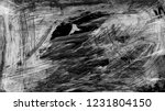 dark brush stroke and texture.... | Shutterstock . vector #1231804150