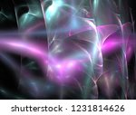 digital abstract fractal... | Shutterstock . vector #1231814626
