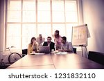 business people in meeting room ... | Shutterstock . vector #1231832110