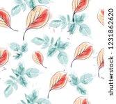 spring vector floral pattern... | Shutterstock .eps vector #1231862620