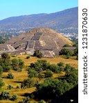 mexico  pre hispanic city of... | Shutterstock . vector #1231870630