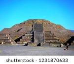 mexico  pre hispanic city of... | Shutterstock . vector #1231870633