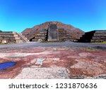 mexico  pre hispanic city of... | Shutterstock . vector #1231870636