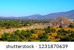 mexico  pre hispanic city of... | Shutterstock . vector #1231870639