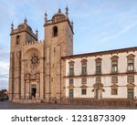 porto cathedral  se do porto ... | Shutterstock . vector #1231873309