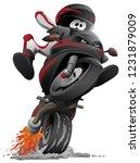 sportbike motorcycle vector... | Shutterstock .eps vector #1231879009