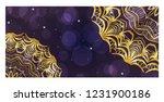 modern vector template with... | Shutterstock .eps vector #1231900186