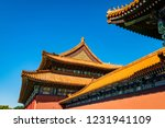 view of the forbidden city in... | Shutterstock . vector #1231941109