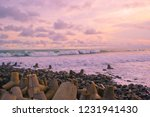 samas beach is one of the... | Shutterstock . vector #1231941430