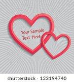 valentine's day vector...   Shutterstock .eps vector #123194740