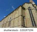 the cathedral of arezzo in... | Shutterstock . vector #123197194