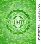 volunteer realistic green... | Shutterstock .eps vector #1231972729