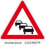 traffic sign no passing | Shutterstock .eps vector #123198379