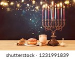 image of jewish holiday...   Shutterstock . vector #1231991839