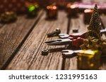 handy tools christmas... | Shutterstock . vector #1231995163