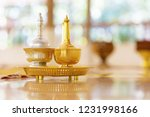 buddhism pour water tools for   ... | Shutterstock . vector #1231998166