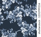 seamless watercolor pattern... | Shutterstock . vector #1231999216