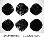 grunge post stamps collection ... | Shutterstock .eps vector #1232017693