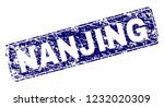 nanjing stamp seal print with... | Shutterstock .eps vector #1232020309