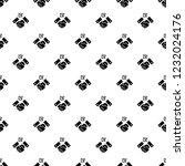 political hand shake pattern... | Shutterstock .eps vector #1232024176