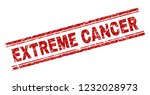 extreme cancer seal print with... | Shutterstock .eps vector #1232028973