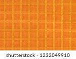 orange nylon fabric  durable... | Shutterstock . vector #1232049910