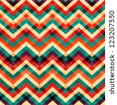 zigzag seamless pattern with... | Shutterstock .eps vector #123207550