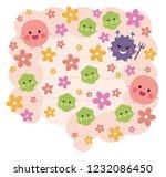 intestinal flora   health | Shutterstock .eps vector #1232086450