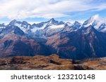 Alps In Zermatt  Switzerland