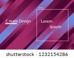 colorful abstract and violet... | Shutterstock .eps vector #1232154286