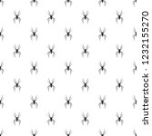 spider pattern seamless repeat... | Shutterstock . vector #1232155270