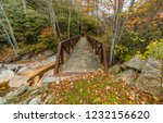 A Bridge Over A Ravine Along A...