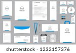 corporate identity set.... | Shutterstock .eps vector #1232157376