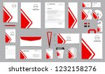 corporate identity set.... | Shutterstock .eps vector #1232158276