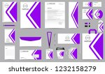corporate identity set.... | Shutterstock .eps vector #1232158279