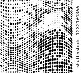 the texture of halftone black... | Shutterstock .eps vector #1232164366