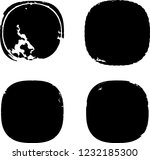 grunge post stamps collection ... | Shutterstock .eps vector #1232185300