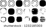 grunge post stamps collection ... | Shutterstock .eps vector #1232185303