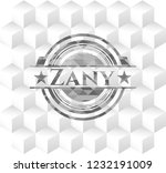 zany grey emblem. retro with... | Shutterstock .eps vector #1232191009