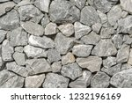 background  a wall of rough... | Shutterstock . vector #1232196169