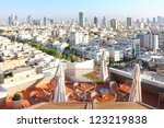 view of tel aviv city from ... | Shutterstock . vector #123219838