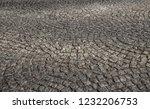 old stone pavement closeup... | Shutterstock . vector #1232206753