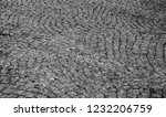 old stone pavement closeup... | Shutterstock . vector #1232206759
