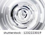 future engineering technology...   Shutterstock . vector #1232223019