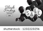 black friday vector organic...   Shutterstock .eps vector #1232223256